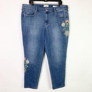 Jessica Simpson Jeans 18W Mika Best Friend Skinny